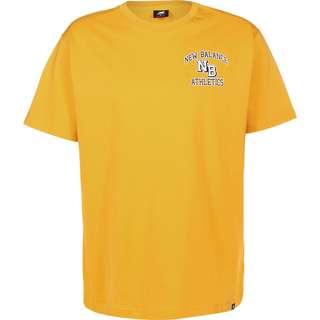 NEW BALANCE MT03517 T-Shirt Herren gelb
