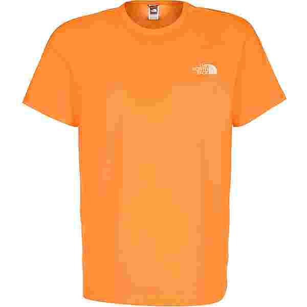 The North Face Simple Dome T-Shirt Herren orange