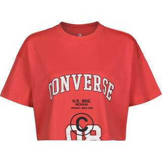 CONVERSE 08 Boxy W T-Shirt Damen rot