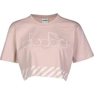 Diadora Barra W T-Shirt Damen pink