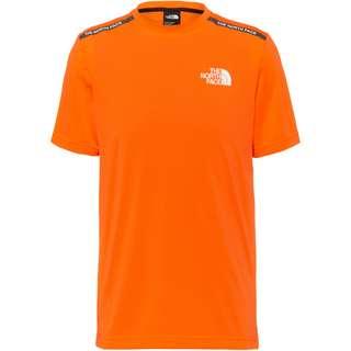 The North Face Train T-Shirt Herren shocking orange