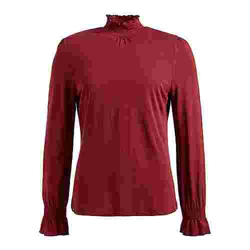 Khujo ANNKEA Langarmshirt Damen rot