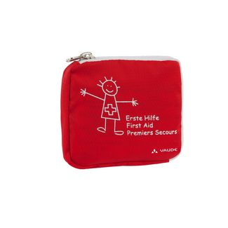 VAUDE Kids First Aid Erste Hilfe Set Kinder red-white