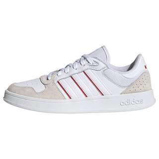 adidas Breaknet Plus Schuh Sneaker Damen Cloud White / Cloud White / Vivid Red