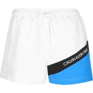Calvin Klein Short Drawstring Boardshorts Herren weiß