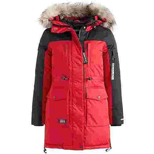 Khujo CHRISTINA Winterjacke Damen rot-schwarz