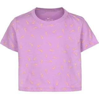 Nike Swooshfetti T-Shirt Kinder lila