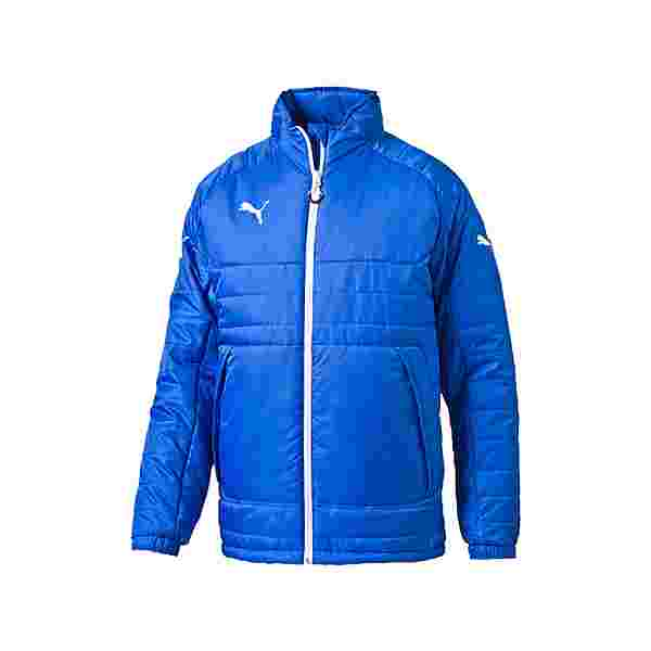 PUMA Esito 3 Stadium Jacket Jacke Funktionsjacke Herren blauweiss