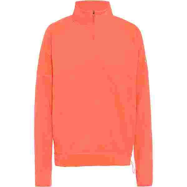 Nike Air Funktionsshirt Damen bright mango-reflective silv