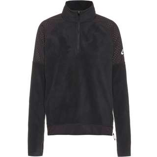 Nike Air Funktionsshirt Damen black-black-black-reflective silv