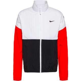 Nike Dri Fit Starting 5 Funktionsjacke Herren white-black-university red-black