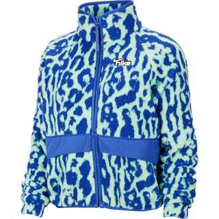 Nike Sherpa Winterjacke Damen blau/grün
