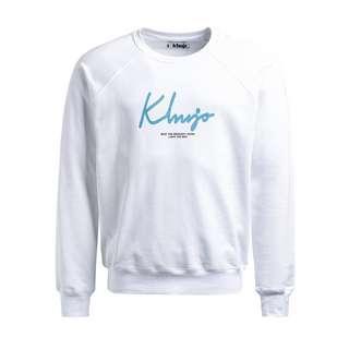 Khujo USTIS RUBBER Sweatshirt Herren weiß