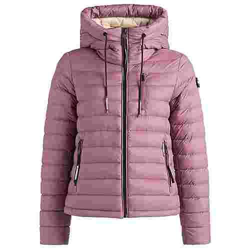 Khujo LOVINA Winterjacke Damen beige-rosa