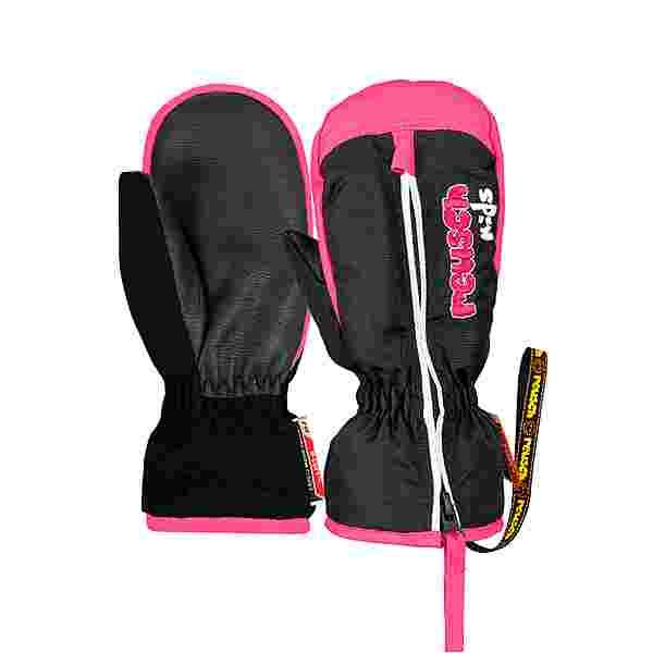 Reusch Ben Mitten Outdoorhandschuhe Kinder black/knockout pink