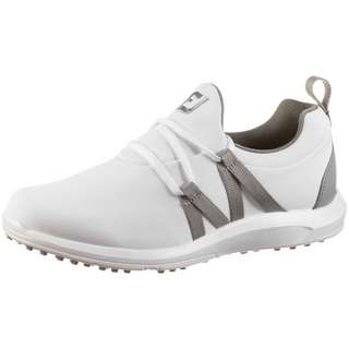 Foot Joy FJ LEISURE SLIP-ON Golfschuhe Damen white-grey