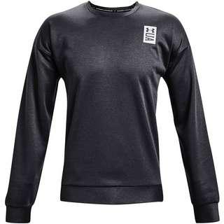 Under Armour Recover Sweatshirt Herren black full heather-white