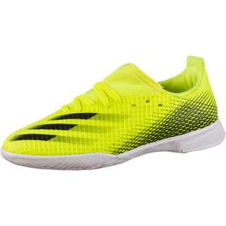 adidas X GHOSTED.3 IN J Fußballschuhe Kinder solar yellow-core black-team royal blue