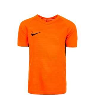 Nike Dry Tiempo Premier Fußballtrikot Kinder orange / schwarz