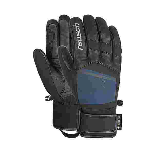 Reusch Beat GORE-TEX® Skihandschuhe black / dress blue