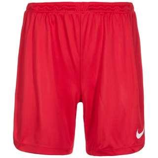 Nike Park II Knit Fußballshorts Damen rot / weiß