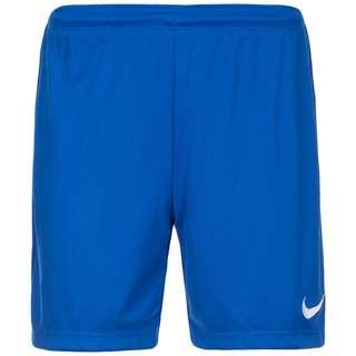 Nike Park II Knit Fußballshorts Damen blau / weiß