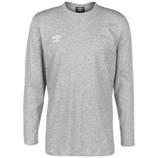 UMBRO FW Small Logo Funktionsshirt Herren grau / weiß