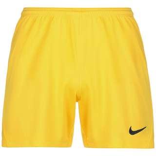 Nike Dry Park III Fußballshorts Damen gelb / schwarz