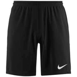 Nike Dry Park III Fußballshorts Herren schwarz / weiß