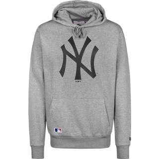 New Era MLB Team Logo NY Yankees Hoodie Herren grau/meliert