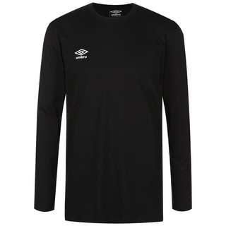 UMBRO FW Small Logo Funktionsshirt Herren schwarz / weiß