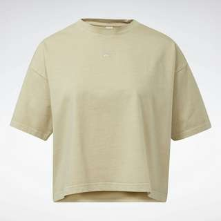 Reebok T-Shirt Damen beige