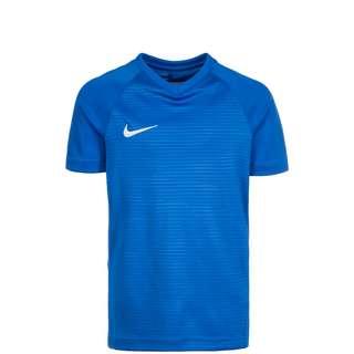 Nike Dry Tiempo Premier Fußballtrikot Kinder blau / weiß