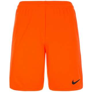 Nike Park II Fußballshorts Herren orange / schwarz