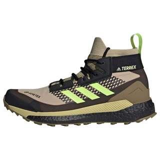 adidas TERREX Free Hiker GORE-TEX Wanderschuh Wanderschuhe Herren Savanna / Hi-Res Yellow / Core Black