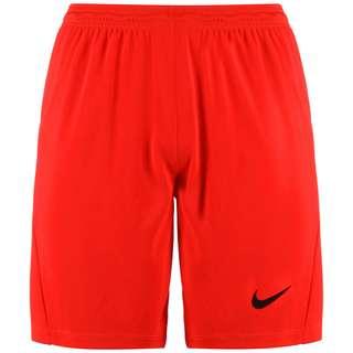 Nike Dry Park III Fußballshorts Herren rot / schwarz