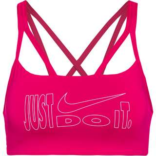 Nike INDY BH Damen fireberry-white-white