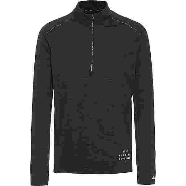 Nike DVN Dry Fit Elmnt Funktionsshirt Herren black-black-reflective silv