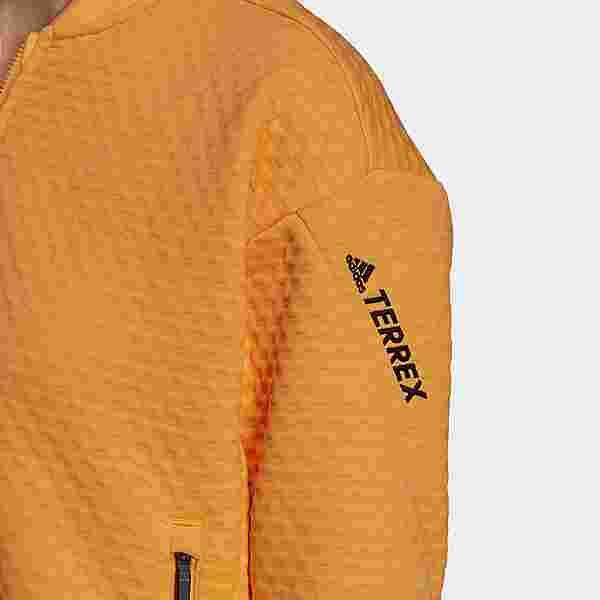 adidas TERREX Hike Fleecejacke Outdoorjacke Damen Orange