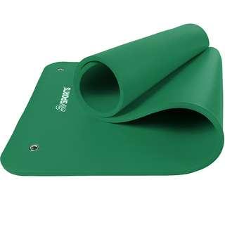 ScSPORTS Gymnastikmatte 185 x 80 x 1,5 grün Matte Grün
