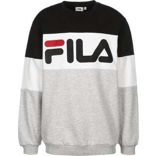 FILA Straight Blocked Sweatshirt Herren grau/schwarz