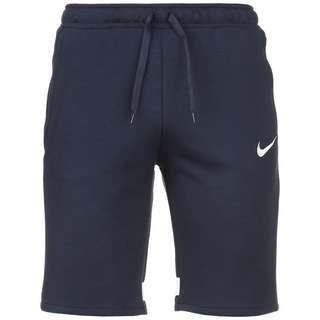 Nike Strike 21 Fleece Fußballshorts Herren dunkelblau / weiß