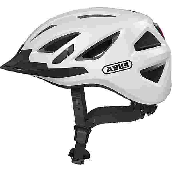 ABUS URBAN-I 3.0 Fahrradhelm polar white