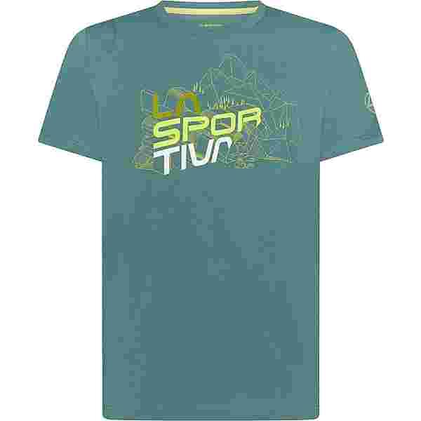 La Sportiva Cubic T-Shirt Herren pine