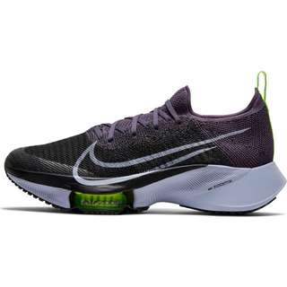 Nike Air Zoom Tempo Next% Laufschuhe Damen dark raisin-ghost-black-volt