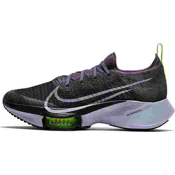 Nike Air Zoom Tempo Next% Laufschuhe Damen dark raisin-ghost-black-volt