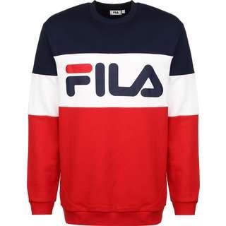 FILA Straight blocked Sweatshirt Herren rot