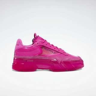 Reebok Club C Cardi Sneaker Damen Dynamic Pink / Dynamic Pink / Clear