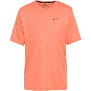 Nike Miler Funktionsshirt Herren crimson bliss-reflective silv