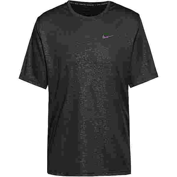 Nike Miler Funktionsshirt Herren black-reflective silv